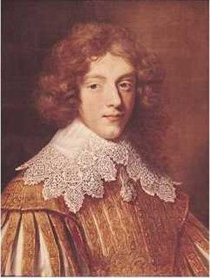 Henri Coiffier de Ruzé, Marquis of Cinq-Mars - Image: Henri Coiffier de Ruzé, Marquis of Cinq Mars