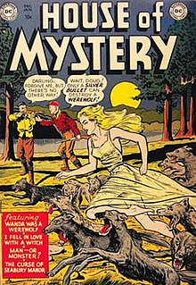 <i>House of Mystery</i> anthology comic book series