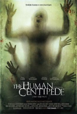 The Human Centipede (First Sequence) - Theatrical release poster