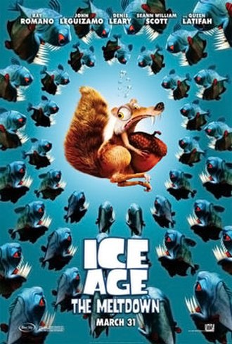 Ice Age: The Meltdown - Theatrical release poster