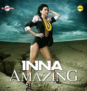 Amazing (Inna song) - Image: Inna amazing promo cover
