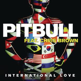 Pitbull featuring Chris Brown — International Love (studio acapella)