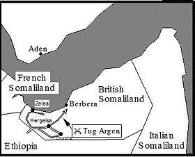 Italian invasion of British Somaliland in August 1940.
