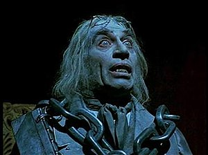 Frank Finlay - Finlay as Jacob Marley's Ghost