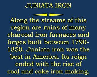 Jacob C. Higgins - Image: Juniata iron