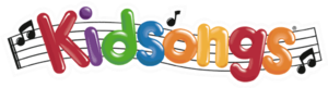 "Kidsongs - 1989–98 logo with the "".com"" added in 2002."