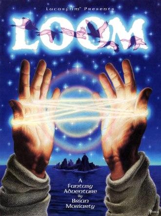Loom (video game) - Cover art by Mark Ferrari