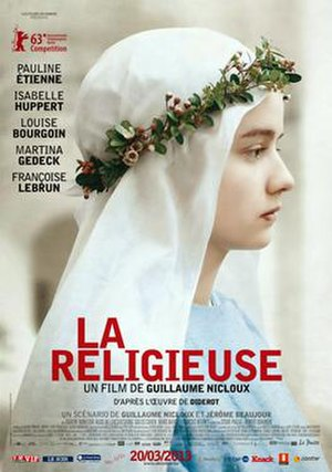 The Nun (2013 film) - French theatrical release poster
