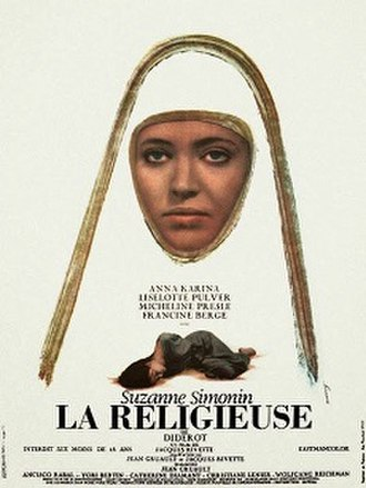 The Nun (1966 film) - Theatrical release poster