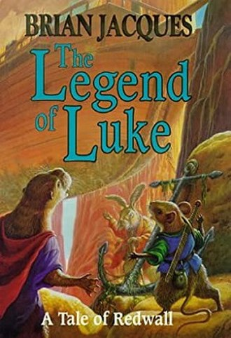 The Legend of Luke - UK first edition cover