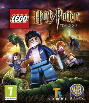 Lego Harry Potter: Years 5–7 - Cover art for Lego Harry Potter: Years 5–7