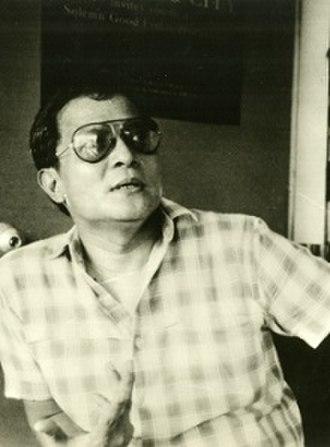 Lino Brocka - An undated photo of Brocka