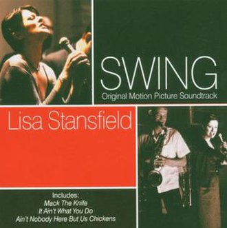 Swing: Original Motion Picture Soundtrack - Image: Lisa Stansfield Swing 2003 cover