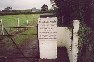 Listowel - The effects of the famine on Listowel are commemorated by a communal grave on the outskirts of the town