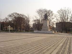 Lom (town) - Image: Lom Freedom Square