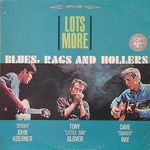 Lots More Blues, Rags and Hollers - Image: Lotsmorekrg