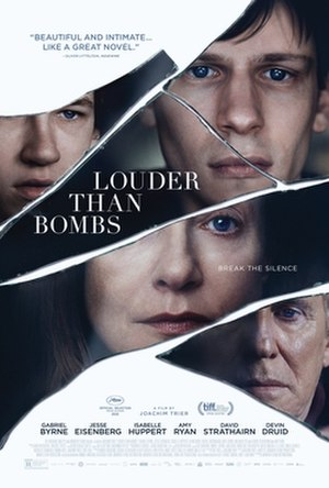 Louder Than Bombs (film) - Film poster