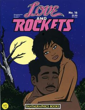 Love and Rockets (comics) - Image: Love And Rockets 16