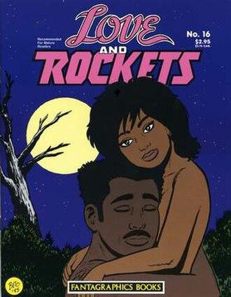 Love and Rockets (comics) - Image: Love And Rockets 16