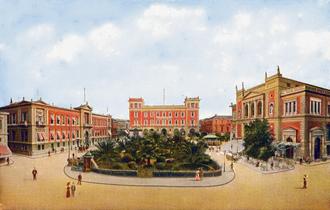 Kotzia Square - Ludovic Square ca. 1900