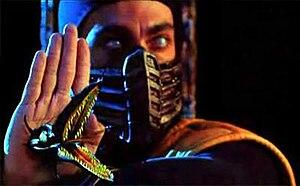 Scorpion (Mortal Kombat) - Chris Casamassa as Scorpion in the 1995 film Mortal Kombat