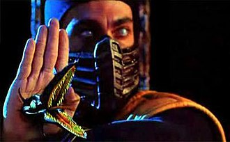 Scorpion (Mortal Kombat) - Chris Casamassa as Scorpion in the 1995 film Mortal Kombat