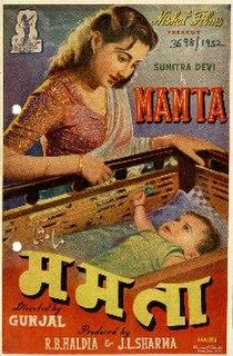 <i>Mamta</i> (1952 film) 1952 film by Gunjal