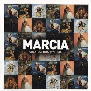 Marcia: Greatest Hits 1975–1983 - Image: Marcia Greatest Hits 1975–1983