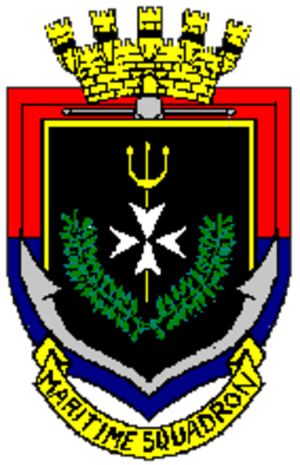 Maritime Squadron of the Armed Forces of Malta - Coat of arms of the Maritime Squadron