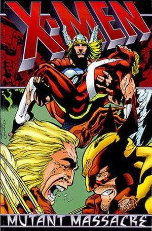 Mutant Massacre - Image: Marvel X Men Mutant Massacre Trade Paperback (1999)