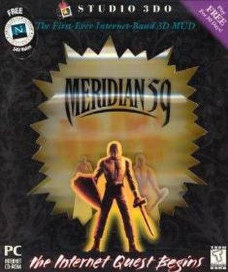 Meridian 59 - Image: Meridian 59 cover