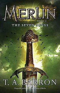<i>Merlin Book 2: The Seven Songs</i> book by T.A. Barron