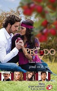 <i>Mi pecado</i> television series