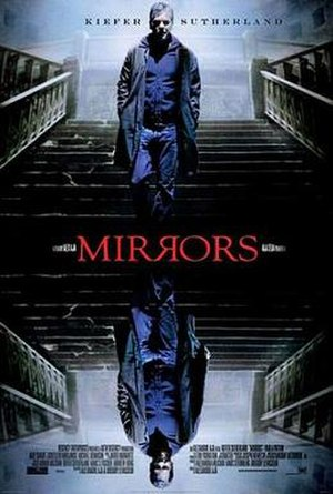 Mirrors (film) - Theatrical release poster