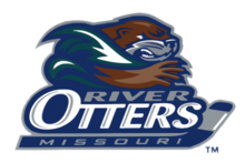 Missouri River Otters Primary Logo 2004.png