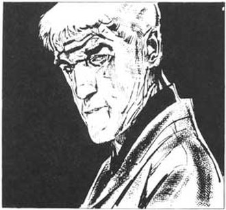 Mort Cinder - Mort Cinder, the principal character from the series. Art by Alberto Breccia.