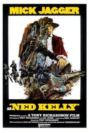 Ned Kelly (1970 film) - Theatrical release poster