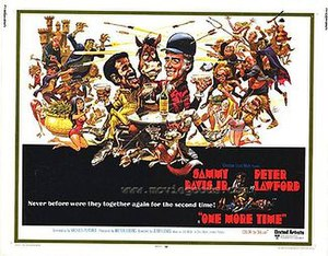 One More Time (1970 film) - film poster by Jack Davis