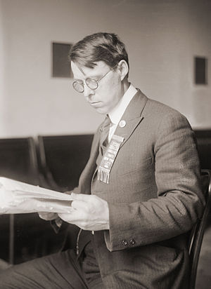 James Oneal - James Oneal as he appeared at the time of the May 1920 Socialist Party of America convention.