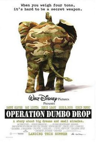 Operation Dumbo Drop - Theatrical release poster