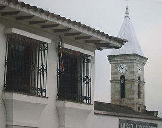 Pasca - Pasca's church and museum façade