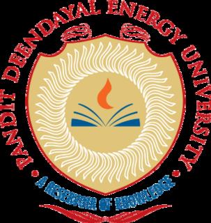 Pandit Deendayal Energy University Private university in Gujarat, India
