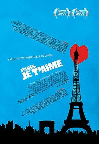 Paris, je t'aime - Theatrical release poster