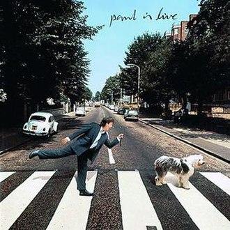 Paul Is Live - Image: Paulmccartneyalbum paulislive