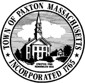 Paxton, Massachusetts - Image: Paxton MA seal