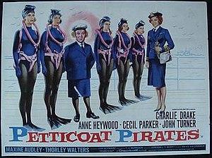 Petticoat Pirates - Film poster