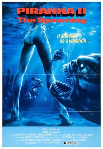 Piranha II: The Spawning - Theatrical release poster