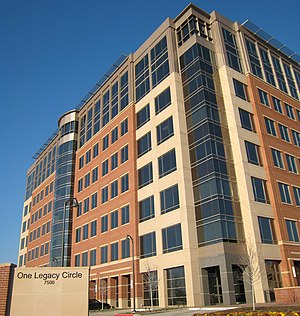 Alliance Data - Alliance Data headquarters in One Legacy Circle located at 7500 Dallas Parkway in Plano, TX