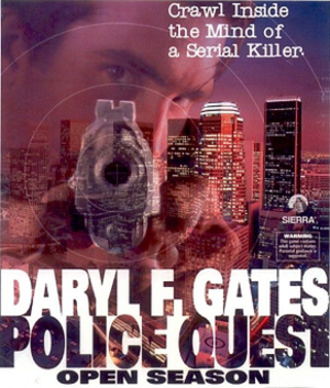 Police Quest: Open Season - Image: Police Quest 4 cover