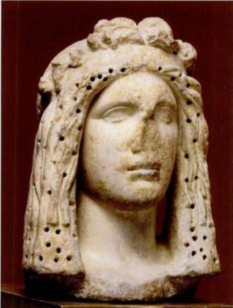 Paerisades V - Marble Bust of Bosporan Ruler, late 2nd century BC, possibly Paerisades V.
